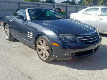 Salvage Chrysler Crossfire